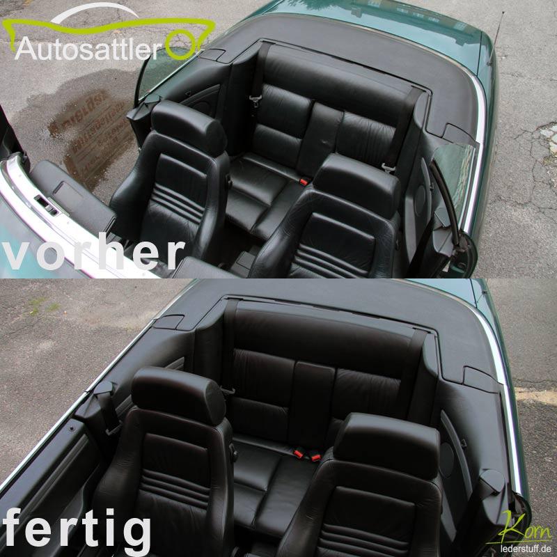 Sattlerei korn projekte auto audi 80 for Audi 80 interieur