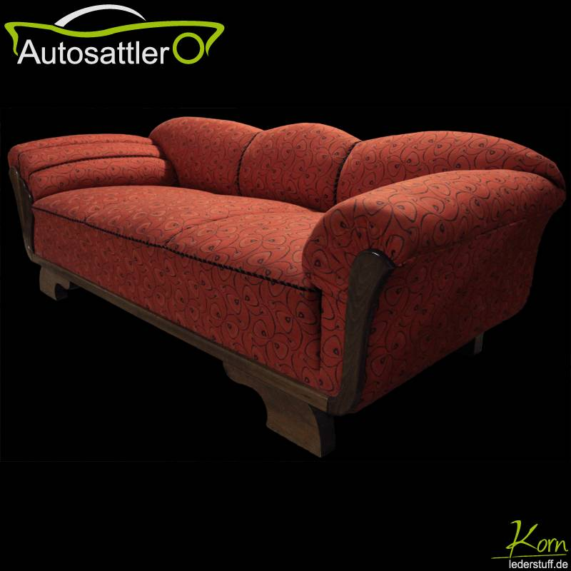 50er jahre cocktailcouch mit sesseln das. Black Bedroom Furniture Sets. Home Design Ideas