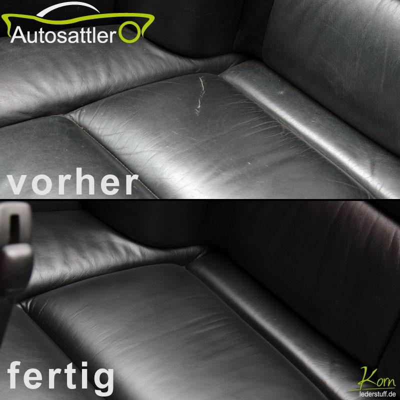 Audi 80 Cabrio Lederaufbereitung - 80 Cabrio Lederaufbereitung