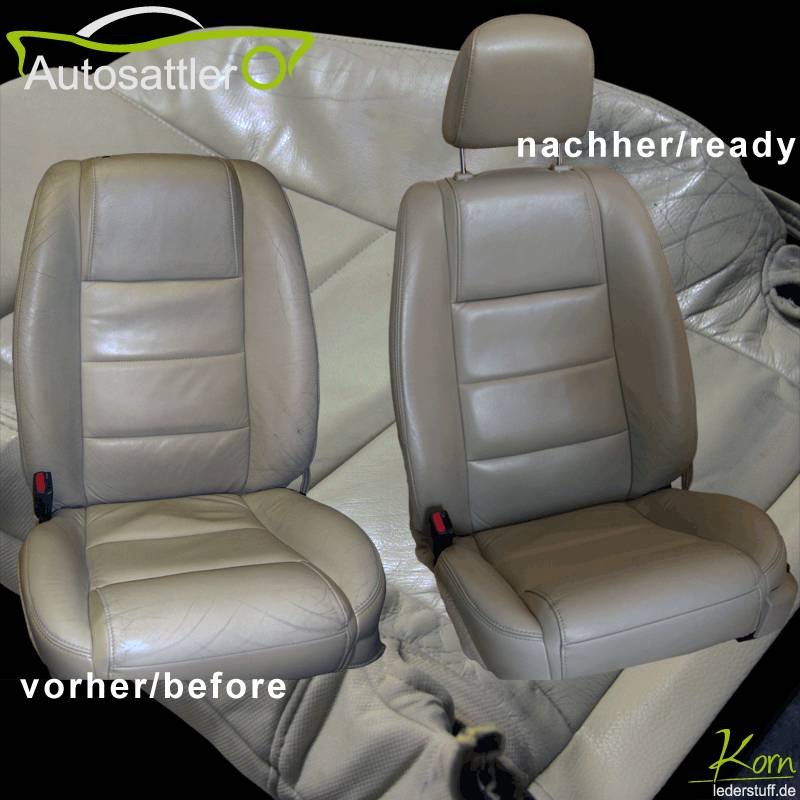 Mustang Cabrio 2003 - Sitzaufbereitung - Cabrio 2003 - Sitzaufbereitung