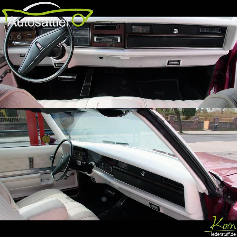 Oldsmobile Delta 88 convertible cockpit - Delta 88 convertible cockpit