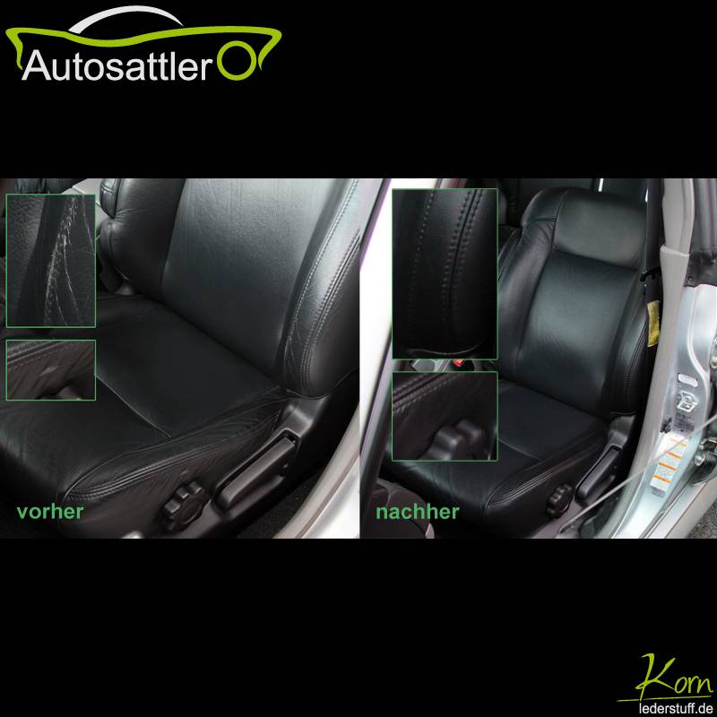 Subaru Forester seat leather repair - Forester seat leather repair