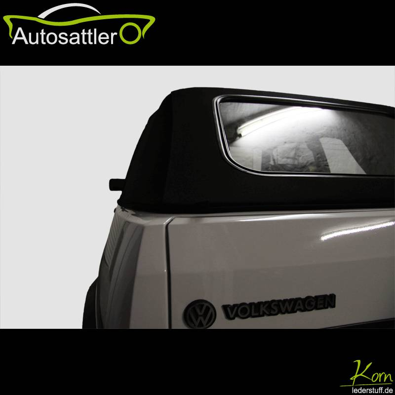 VW Golf 1 convertible - cover in black - Golf 1 convertible - cover in black