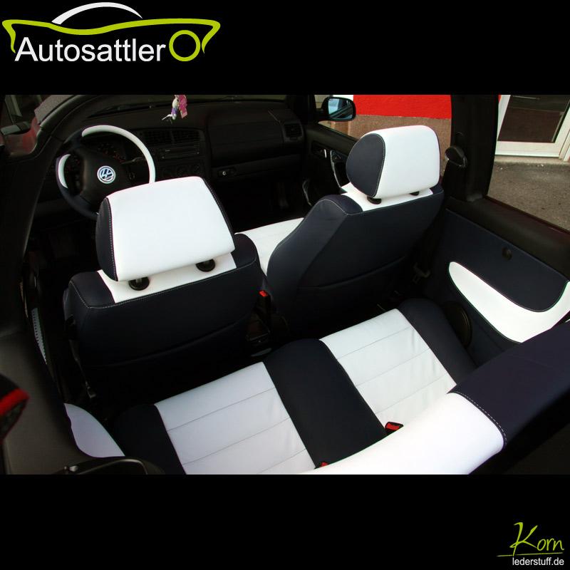 VW Golf IV Cabrio Ledervollausstattung - Golf IV Cabrio Ledervollausstattung