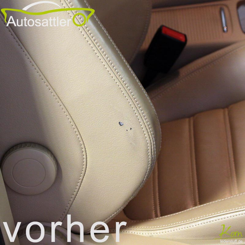 VW Passat leather reparation - Passat leather reparation
