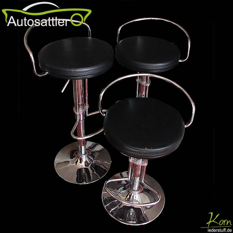 Barhocker mit neuer Sitzfläche - Barhocker mit neuer Sitzfläche