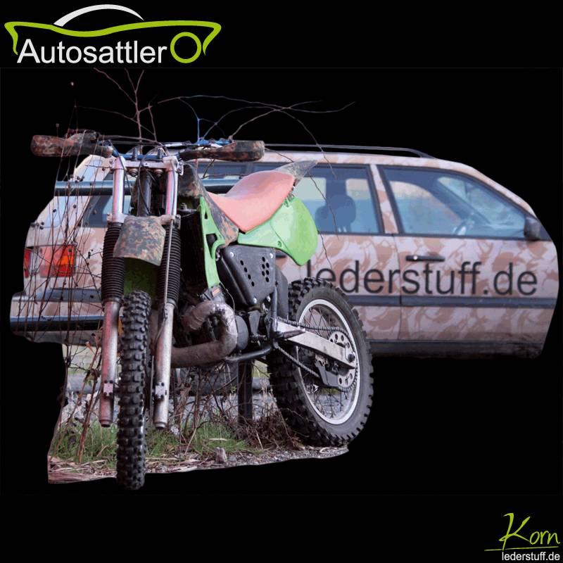 Kawasaki KX 500 Sitzbank und Camouflage-look - KX 500 Sitzbank und Camouflage-look