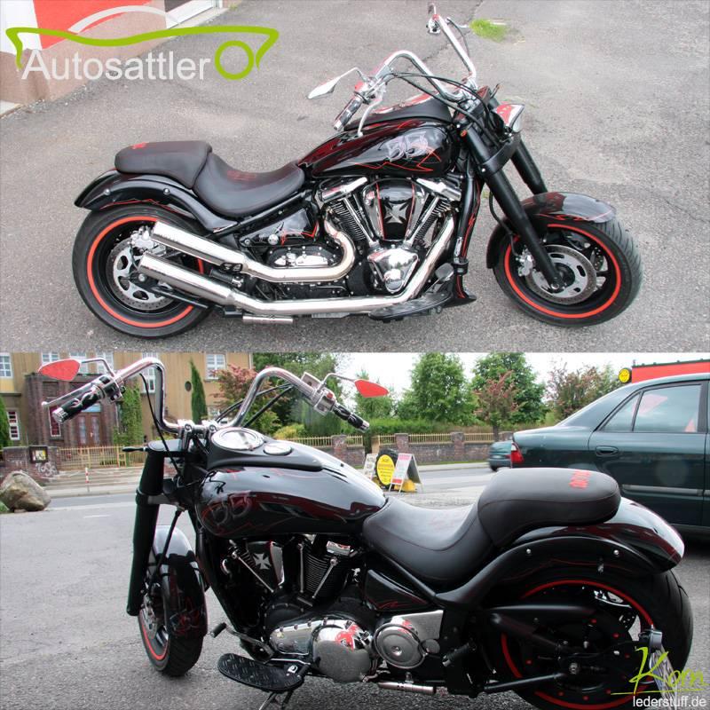Kawasaki VN 2000 Soziussitz custom - VN 2000 Soziussitz custom