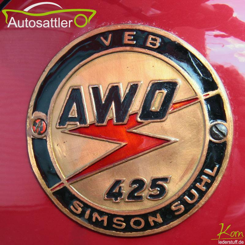 Simson AWO 425 Sattel - AWO 425 Sattel
