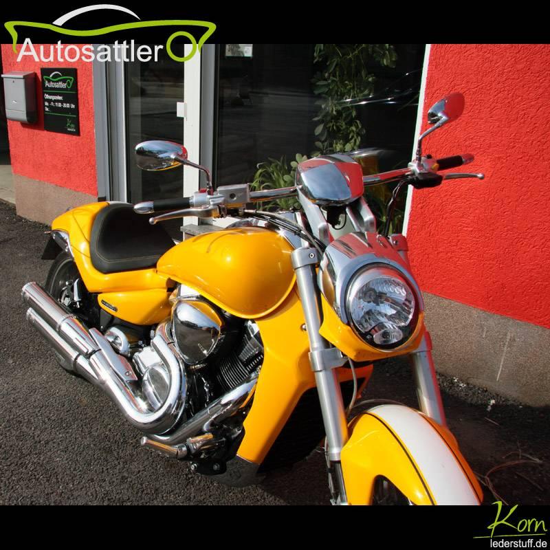 Suzuki Intruder 1800 Sitzbank mit Gelmatte - Intruder 1800 Sitzbank mit Gelmatte