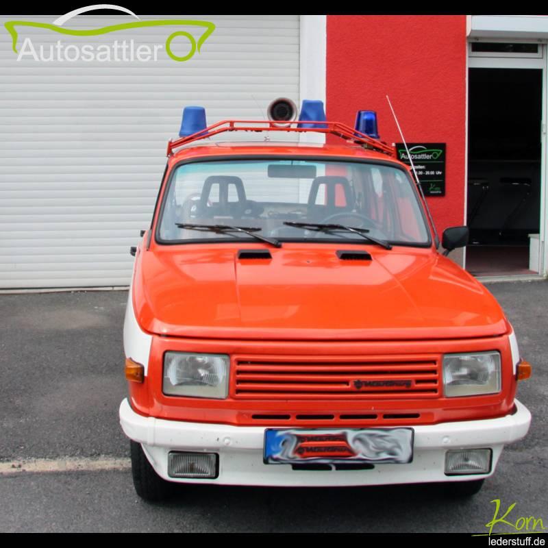 Wartburg 353 Feuerwehr - Blaulichtabdeckung - 353 Feuerwehr - Blaulichtabdeckung